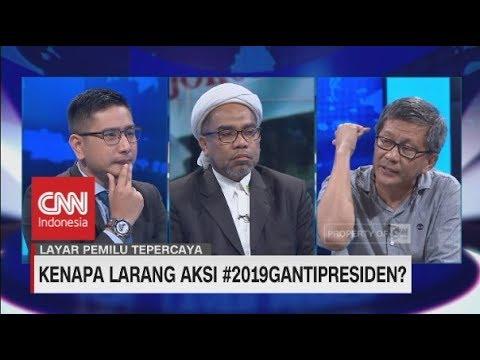 Kenapa Larang Aksi #2019GantiPresiden? - Debat Rocky Gerung & Ali Mochtar Ngabalin