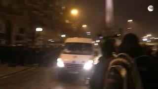 Шествие 'желтых жилетов' в Париже