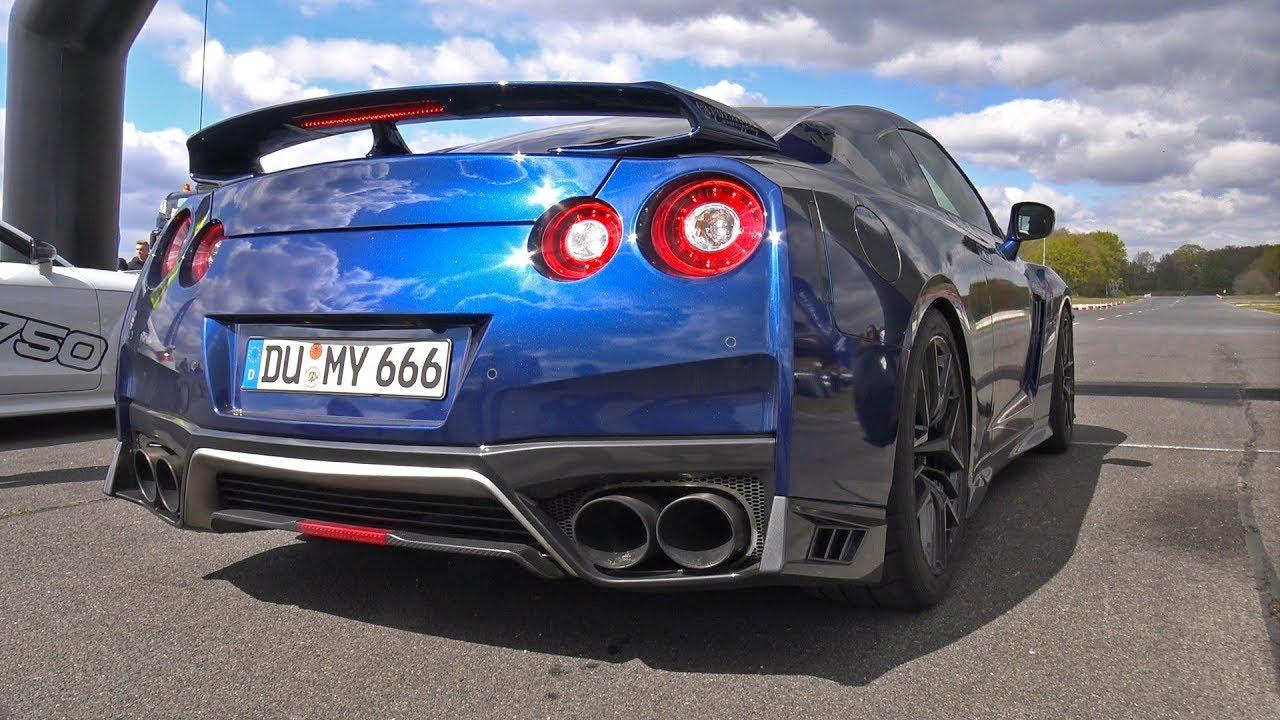 Nissan Gtr Custom >> Nissan Gt R R35 W Ams Downpipes And Custom Y Pipe