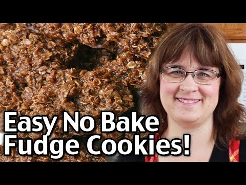 Easy No Bake Cookies! The Best No Bake Fudge Cookies