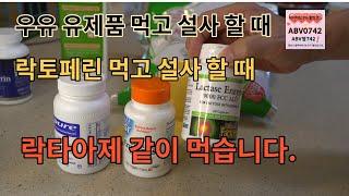우유, 락토페린, 유제품 먹고 설사 할 때 대처법 락…