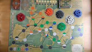 how-to-setup-your-pandemic-fall-of-rome-boardgame-2-player-example