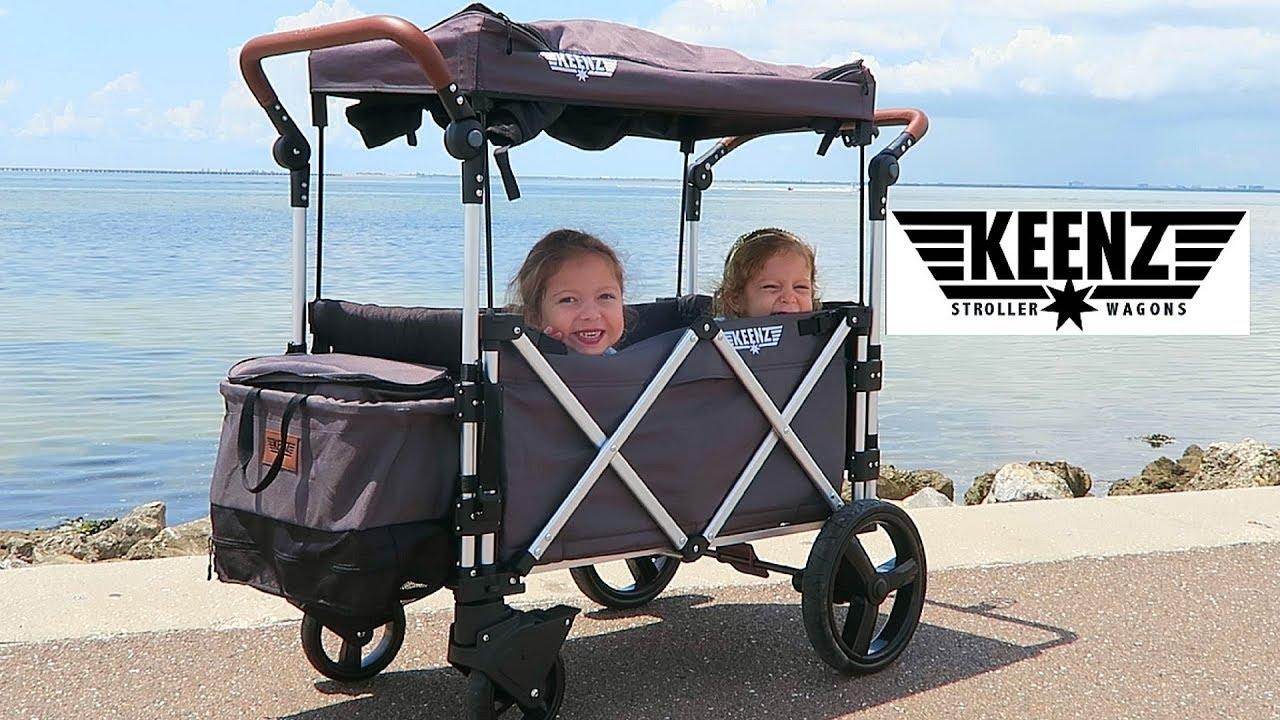 e3dd76dd4212 Keenz Stroller Wagon~Best Stroller Wagon Ever! - YouTube