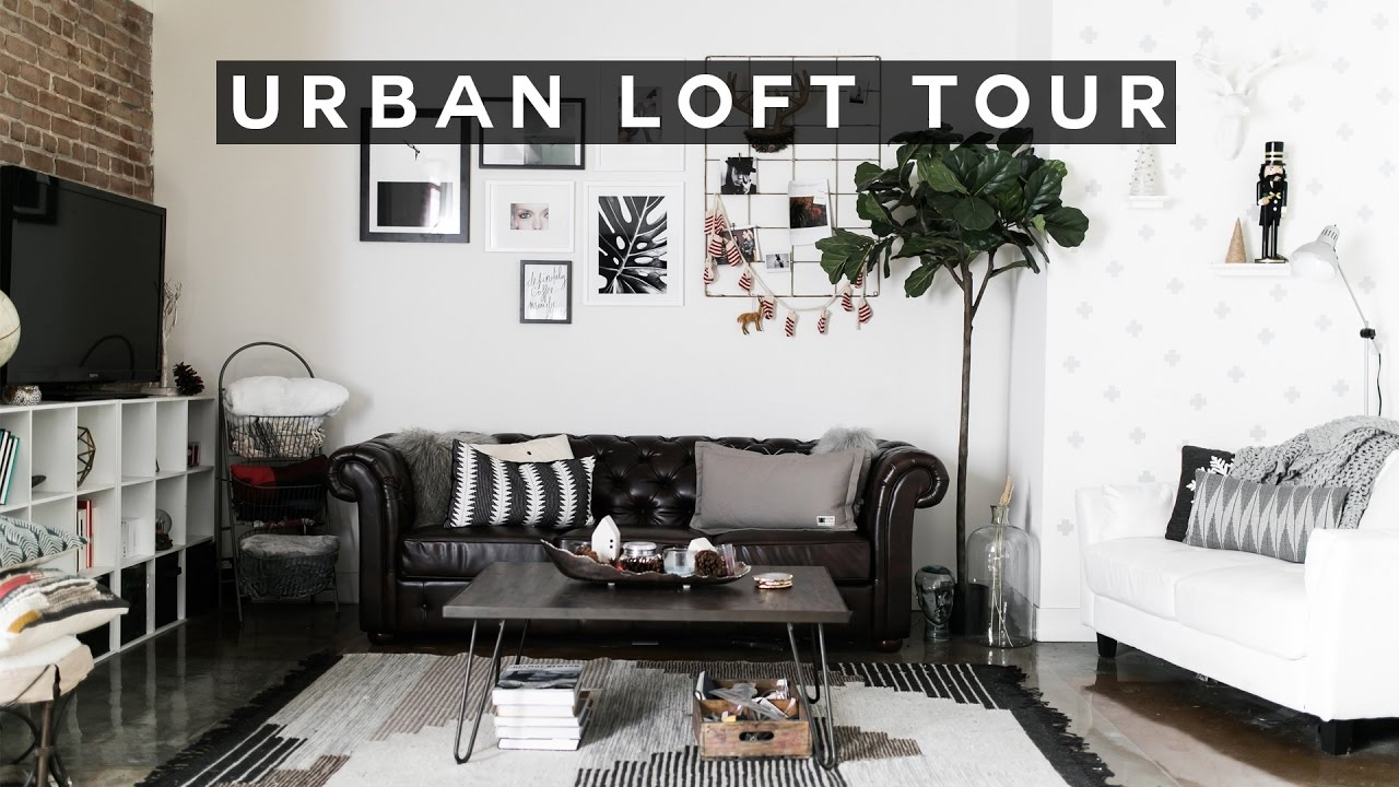 Urban Loft Tour - Downtown Los Angeles | Imdrewscott - YouTube