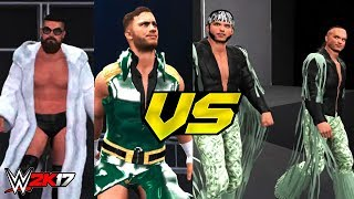 The Young Bucks vs Marty Scurll & Will Ospreay Highlights (WWE 2K17)