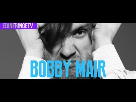EdinFringeTV - Bobby Mair - Interview: Edinburgh Fringe Festival 2013