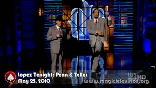 MGTV: Penn & Teller on Lopez Tonight May 25,  2010