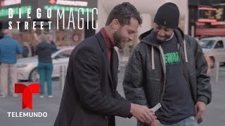 Diego Street Magic | Diego Magic Brings The Fire To NYC | Telemundo English