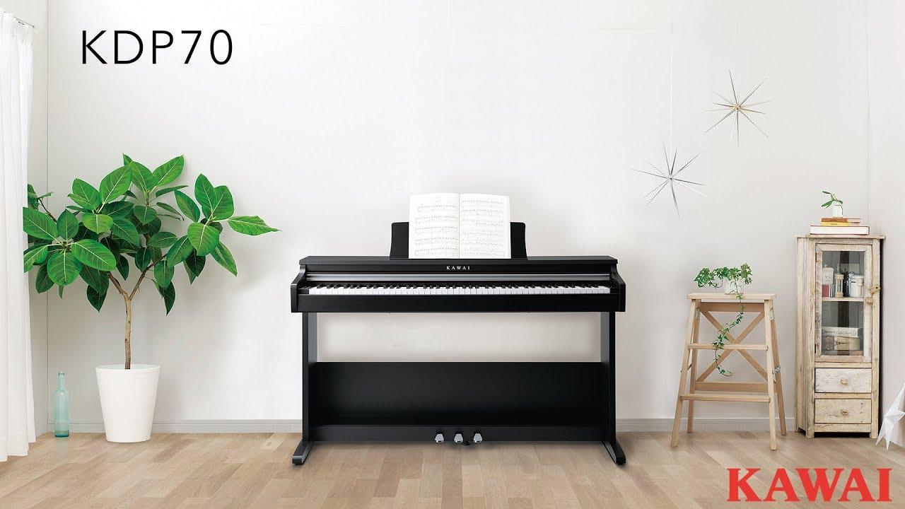 kawai kdp70 digital piano introduction youtube. Black Bedroom Furniture Sets. Home Design Ideas