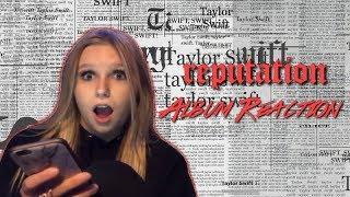 TAYLOR SWIFT REPUTATION ALBUM REACTION?