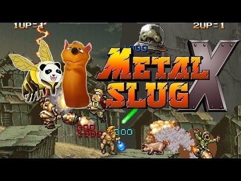 Co-op: Metal Slug X with Sectus