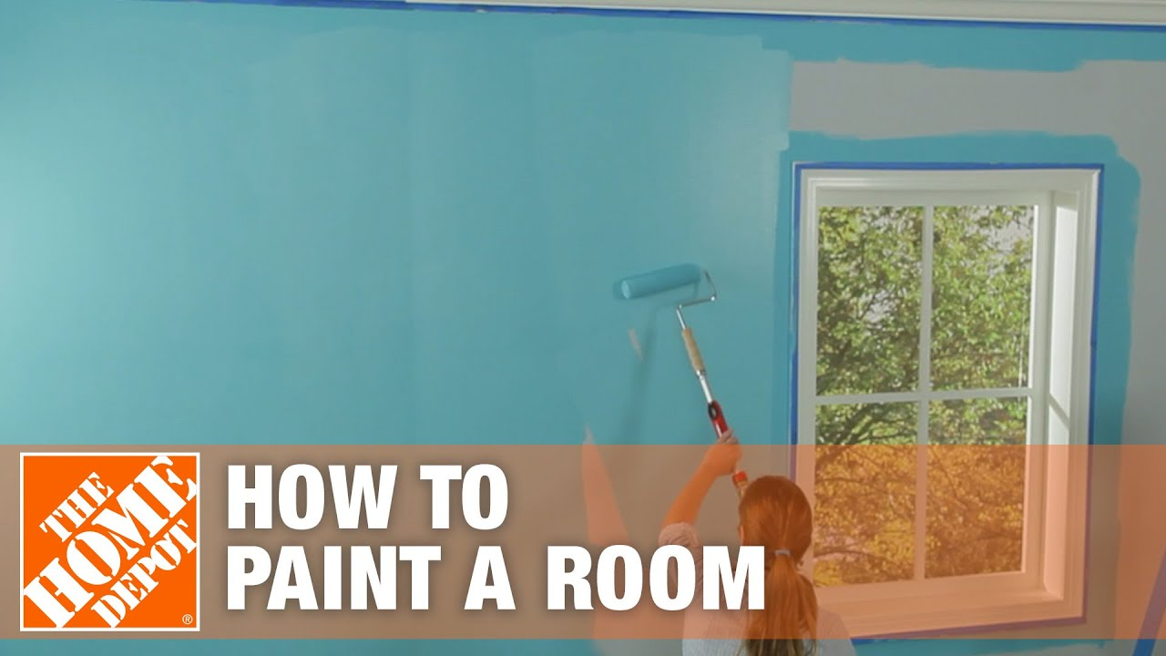 How To Paint A Room Painting Tips The Home Depot You