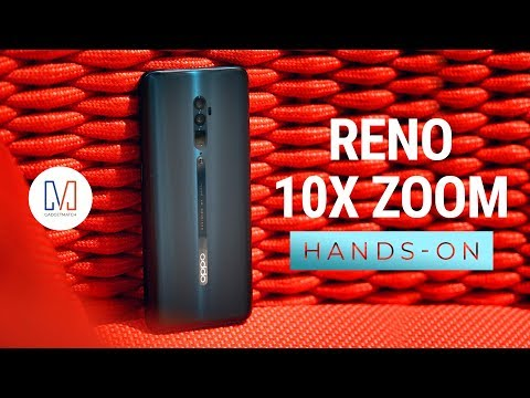 OPPO Reno 10x Zoom Hands-On