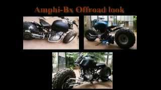 Amphibious Two Wheeler Final Year Mechanical Project (Forkless Motorbike)