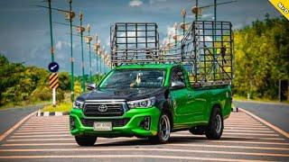 รวมรถคอกแต่งสวย กระบะบรรทุกหนัก รถคอกซิ่งไทยแลนด์ Mr.D Rodzing Th กระบะตอนเดียว เพลาลอย | เพลงแดนซ์