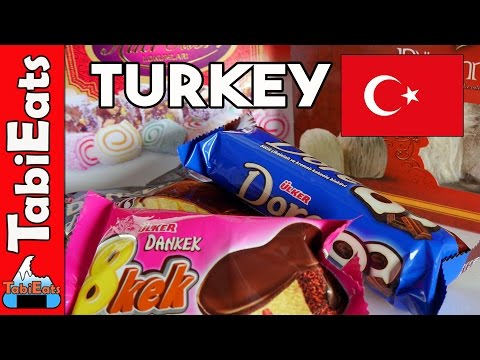 Japanese Try Turkish Snacks and Treats (FOOD HAUL)