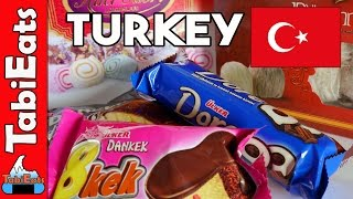 Japanese Try Turkish Snacks and Treats (FOOD HAUL)