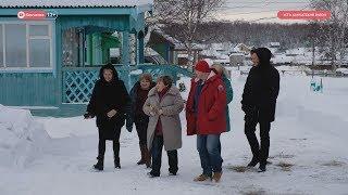 Поездка Ирины Унтиловой в Усть-Камчатский район.