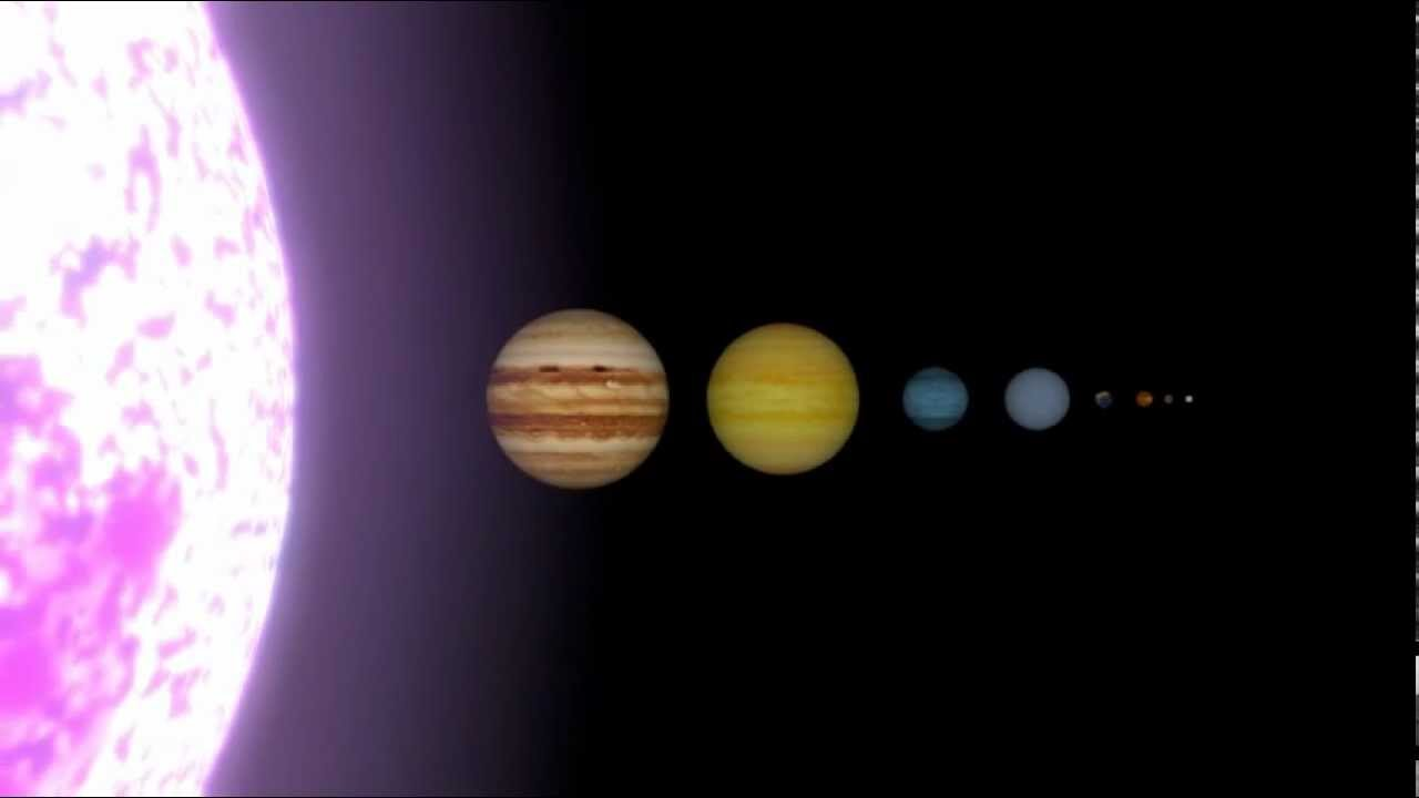 solar system models comparisons - photo #46