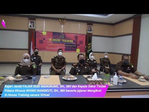 Kejaksaan Negeri Jambi Mengikuti In House Training (IHT) Secara Virtual