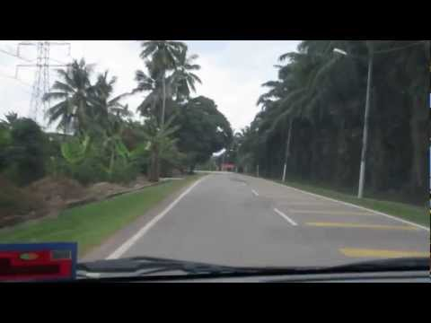 Driving in Malaysia - Rural & City