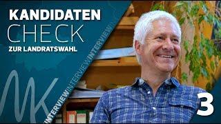 Hans-Werner Seitz (B90/GRÜNE) | Kandidatencheck zur Landratswahl (3/5)