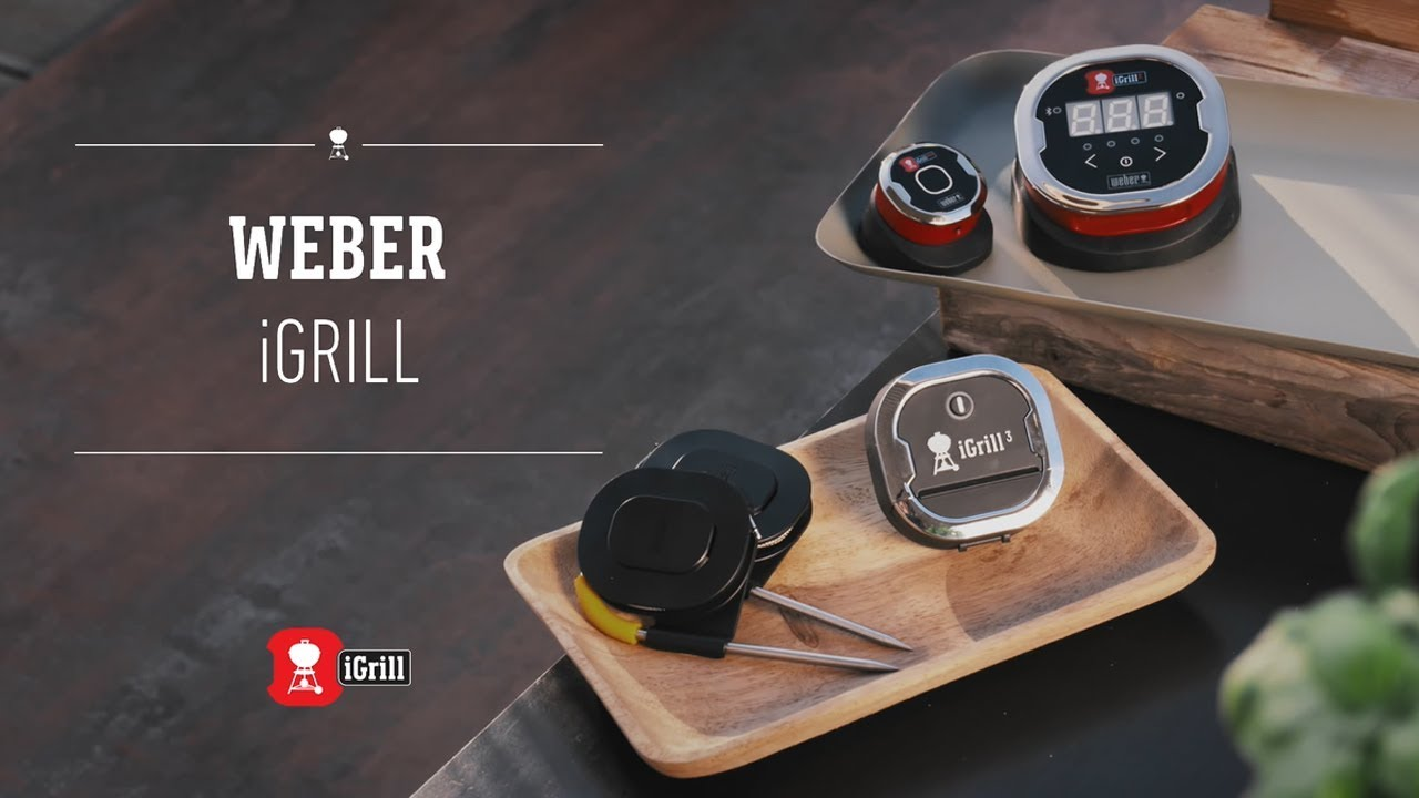weber igrill smart thermometer and app - youtube