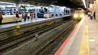臨時サンライズ出雲92号 大阪駅到着~発車