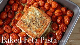 Baked Feta Cheese Pasta | Tik Tok Recipe