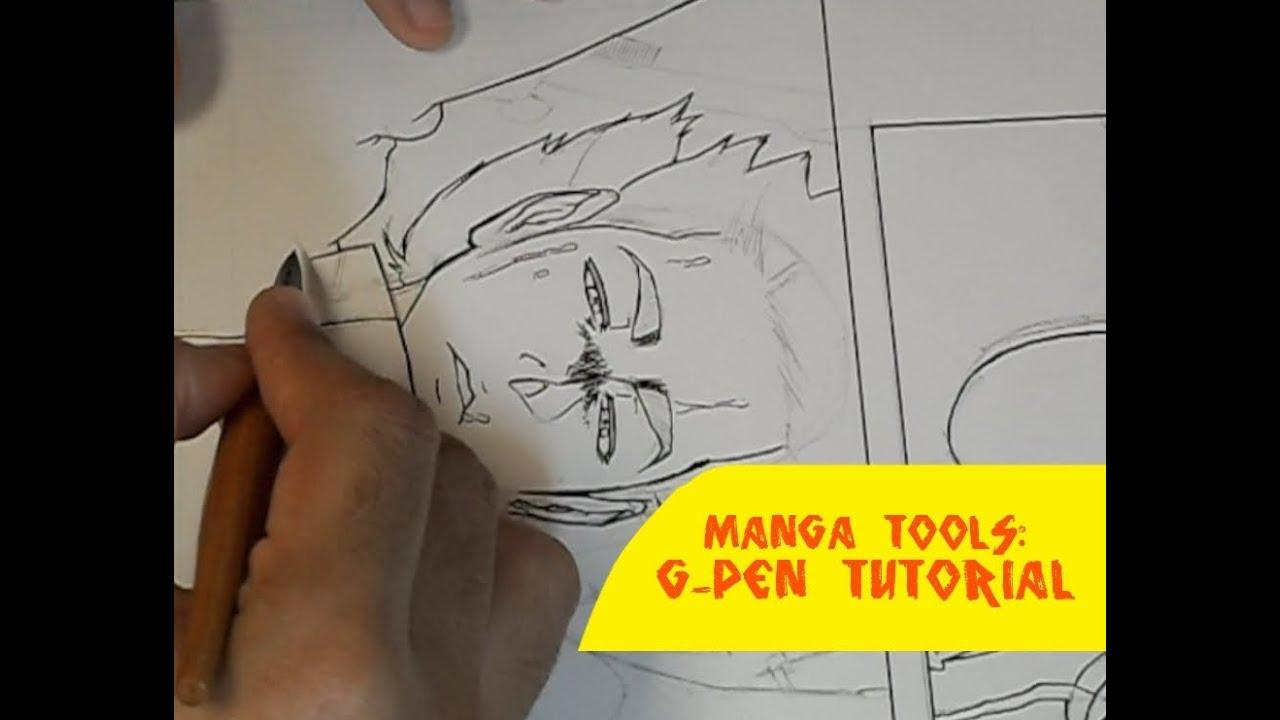 Manga Tools: G-Pen Tutorial