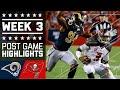 Rams vs. Buccaneers | NFL Week 3 Game Highlights
