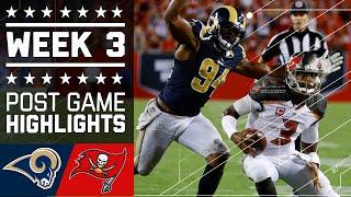 Rams vs. Buccaneers (Week 3) | Post Game Highlights | NFL