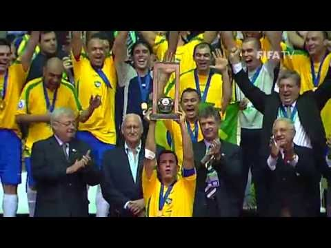 Brazil v. Spain - Futsal World Cup FINAL 2008 - HIGHLIGHTS