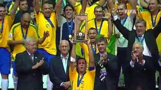 Download Brazil v. Spain - Futsal World Cup FINAL 2008 - HIGHLIGHTS Mp3 and Videos