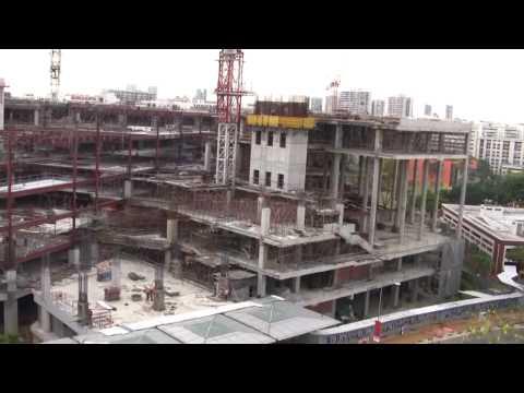 Singapore Serangoon Central NEX Shopping Centre Construction