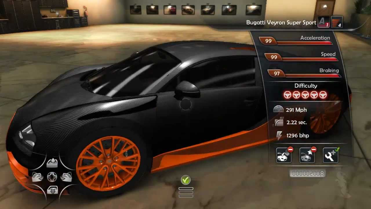 test drive unlimited 2 bugatti veyron super sport world. Black Bedroom Furniture Sets. Home Design Ideas