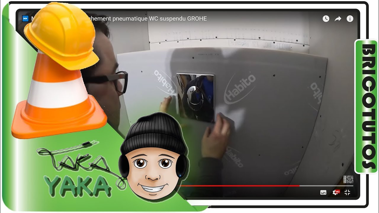 mettre trappe d clenchement pneumatique wc suspendu grohe youtube