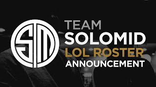 TSM LoL Roster Announcement