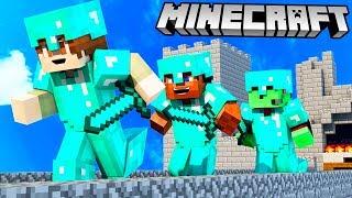 ВЫЖИВАНИЕ И ВОЙНА С ПОДПИСЧИКАМИ В НОВОМ МАЙНКРАФТЕ! #1 (Minecraft)