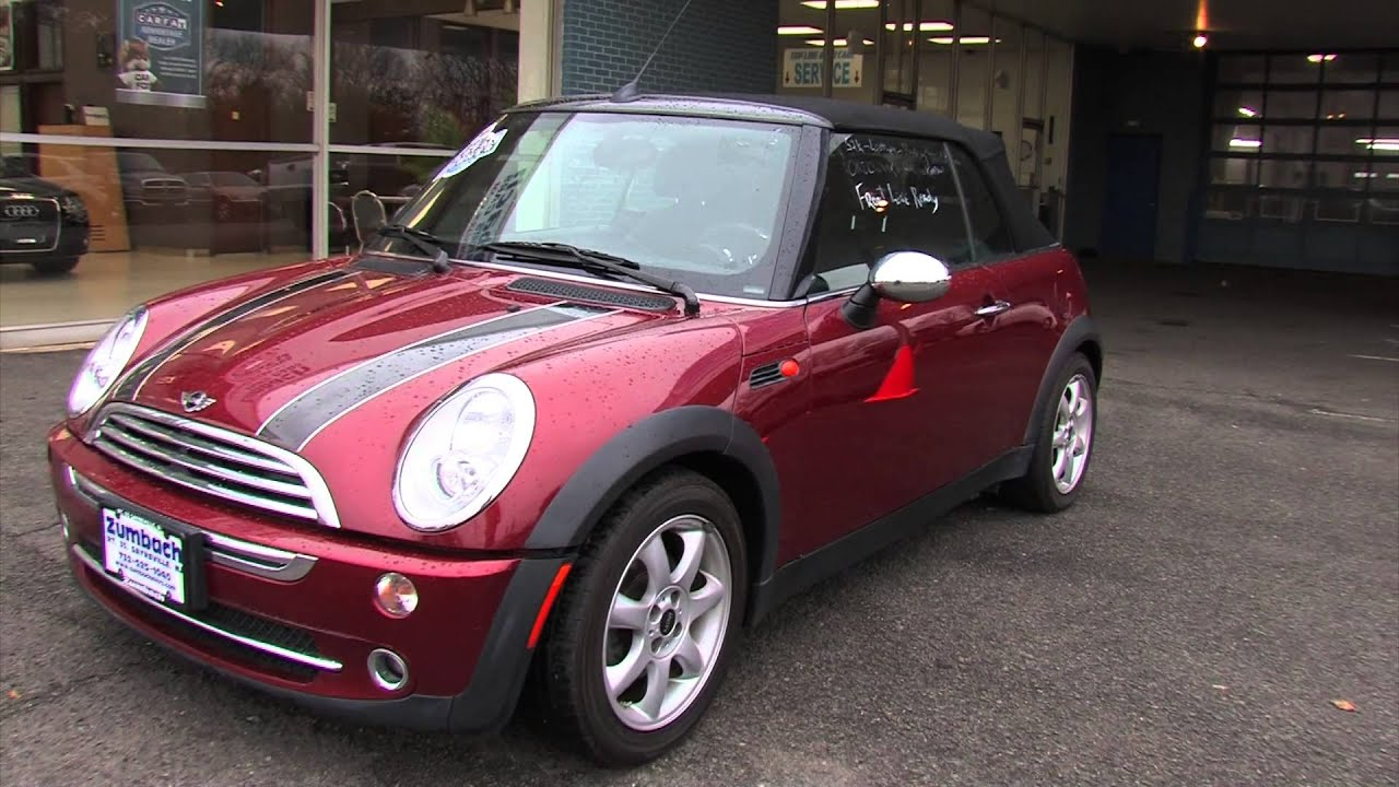 2008 mini cooper convertible for sale new jersey youtube. Black Bedroom Furniture Sets. Home Design Ideas