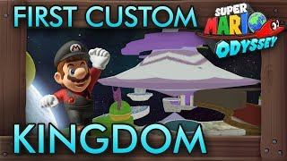 First Custom Kingdom - Mario Galaxy's Observatory in Super Mario Odyssey