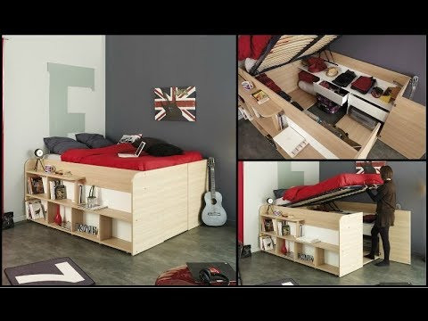 Great Space Saving Ideas - Smart Furniture 2018 #1