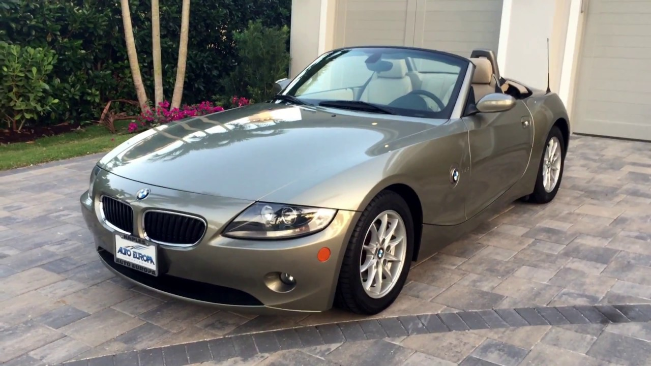 2005 Bmw Z4 2 5i Roadster For Sale By Auto Europa Naples Youtube