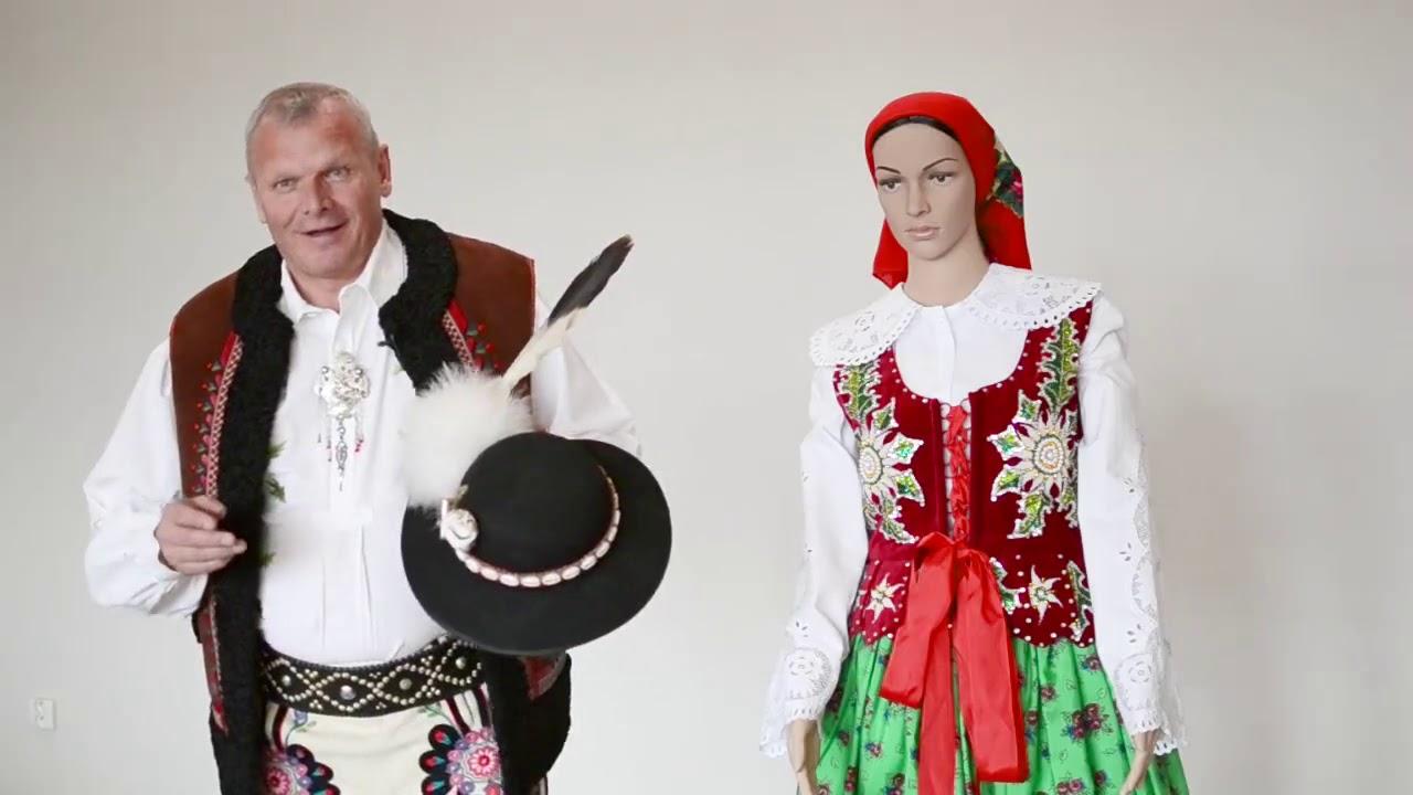 55292dca0 Kroje z rôznych regiónov Slovenska - zo Suchej Hory a Hladovky - YouTube
