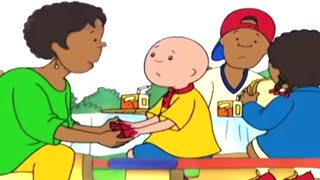 Caillou en Français - Caillou et l'Accident du Déjeuner   dessin animé   conte pour enfant