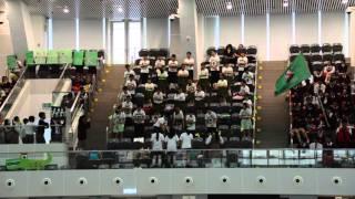 筲東第54屆周年水運會綠社啦啦隊表演