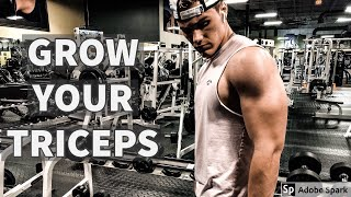 BEST TRICEP EXERCISES | GROW YOUR TRICEPS