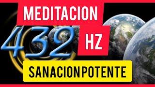 🔥 Meditacion en 432HZ 🧘♂️ MEDITACIÓN PERFECTA SALUD. La SANACIÓN mas POTENTE.