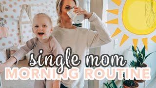 NEW MORNING ROUTINE OF A TODDLER & SINGLE MOM 2019 / Caitlyn Neier