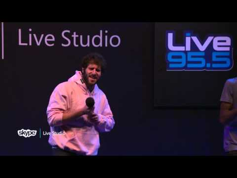 Lil Dicky - $ave Dat Money (LIVE 95.5)